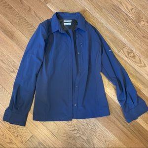 Columbia - long sleeve hiking shirt